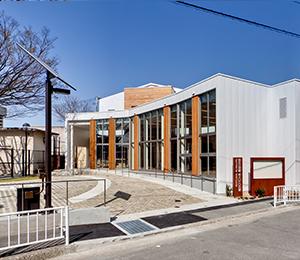 【増築工事】<br>弥生公民館・老人いこいの家複合施設増築工事