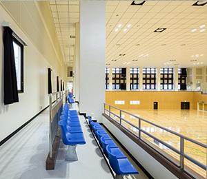 中央体育館大規模改修工事