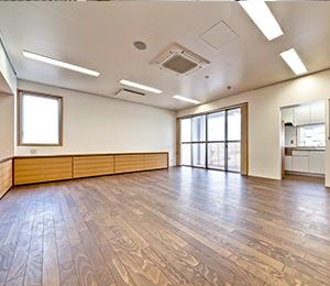 【大規模改修工事】<br>障がい福祉サービス事業所 自立の里大地 2階事務室等改修工事