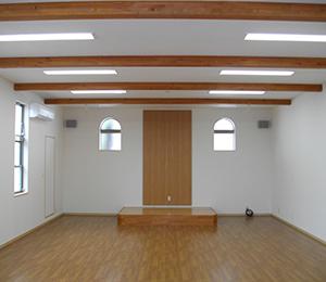 【新築工事】<br>長丘教会建替え工事及び解体工事