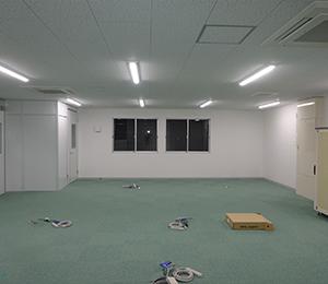 【新築工事】<br>福岡倉庫志免営業所事務所改修工事