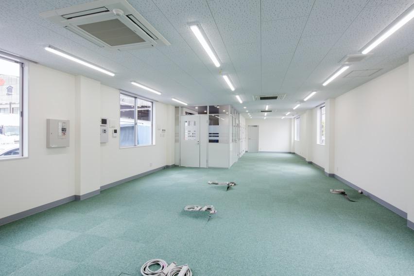 【大規模改修工事】<br>福岡倉庫箱崎営業所リニューアル工事