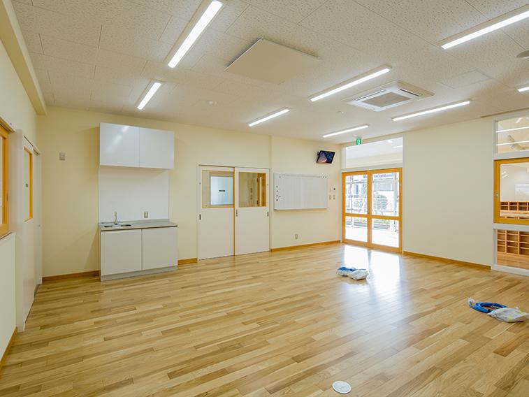 【増改築工事】<br>姪浜保育所移転増築及び改修工事